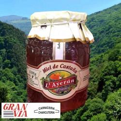Miel asturiana de Castañu  L'Ayerán  1 Kg