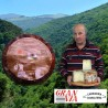 Queso Gamoneu del Valle de la quesería Asprón en cuña