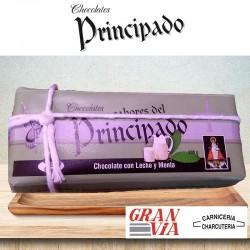 Chocolate con leche y menta Sabores del Principado 200 gramos