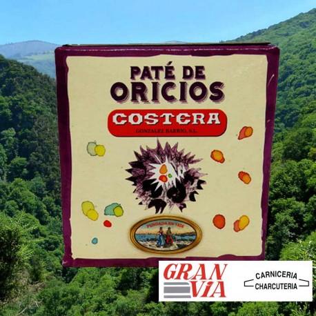 Paté de oricios del Cantábrico - Costera