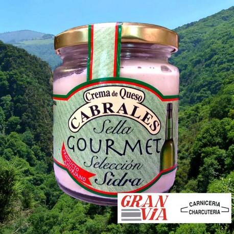 Crema de queso Cabrales con sidra Sella Gourmet