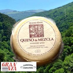 Queso Ovín mezcla vaca y cabra 450 gr. Comprar online
